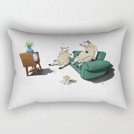 Sheep (Wordless) Rectangular Pillow