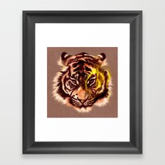 Tiger Framed Art Print