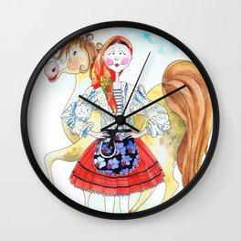 MARIA FROM RIBATEJO-PORTUGAL Wall Clock