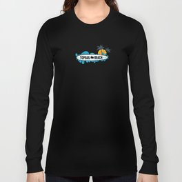 Topsail Beach - North Carolina. Long Sleeve T-shirt