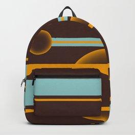 Orange Moon Backpack
