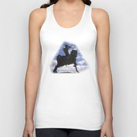 history Tank Tops featuring Past History by CrismanArt