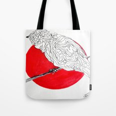 Little red spot Tote Bag
