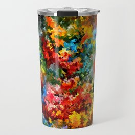 modern composition 09 by rafi talby Travel Mug