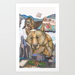 Ursus Gingerbreadis Art Print