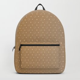 Art Deco, Simple Shapes Pattern 1 [LIGHT GOLD] Backpack