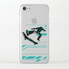 anonymous Clear iPhone Case