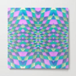 Geometric Kaleidoscope G420 Metal Print
