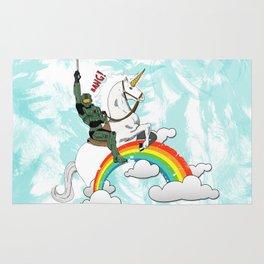 MasterChief Unicorn Rug