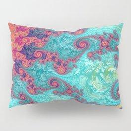 Rainbow Fractal Pillow Sham