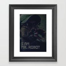 mr.robot_eps1.8_m1rr0r1ng.qt Framed Art Print