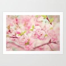 Pink Everywhere Art Print
