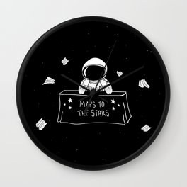 Selling Maps to the Stars Wall Clock