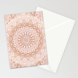 Mandalas for May - Orange Stationery Cards