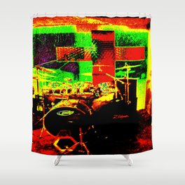 Do You Believe In Rock And Roll? Shower Curtain