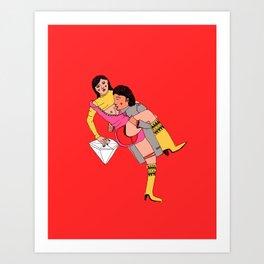 eroti print Art Print