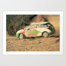 Drifting ds3 Art Print