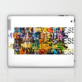 MEANINGLESS 01 Laptop & iPad Skin