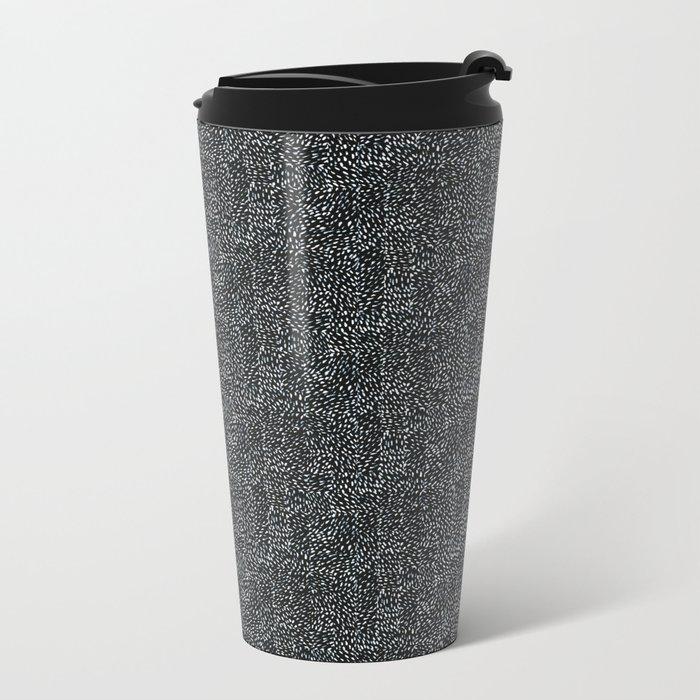 Day 070 | #margotsdailypattern Metal Travel Mug