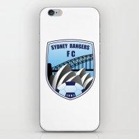 fire emblem iPhone & iPod Skins featuring Emblem by Sydney Rangers FC