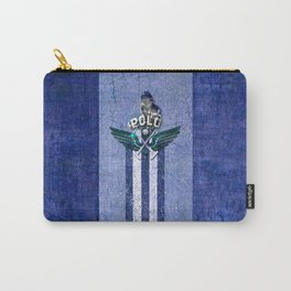 poloplayer blue Carry-All Pouch