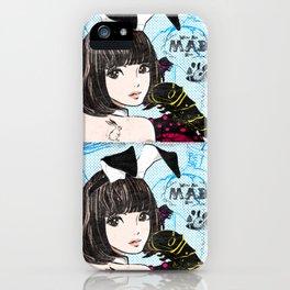 Black,Lemon,Brunette iPhone Case