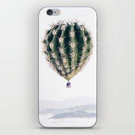 Flying Cactus iPhone Skin