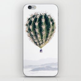 Flying Cactus iPhone Skin