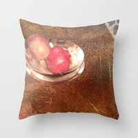 thanksgiving Throw Pillows featuring Thanksgiving by Bonnie M. Cummings ~ BeauCollage