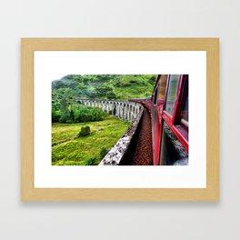 All Aboard The Hogwarts Express Framed Art Print