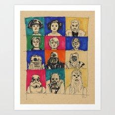 The Original Twelve Art Print