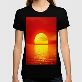 sun set home decor T-shirt
