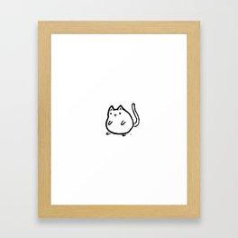 Tiny Cat Framed Art Print