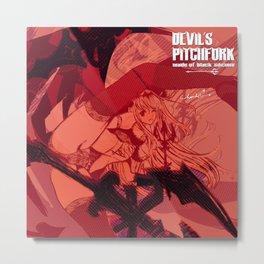 Devil's Pitchfork Metal Print