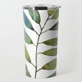 Watercolor Branch Nº 1 Travel Mug