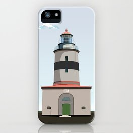 The lighthouse of Falsterbo iPhone Case