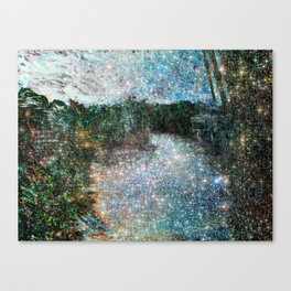 Riverwalking Canvas Print