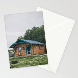 Moose Cabin Stationery Cards