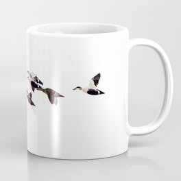 Flock of Eider Ducks Coffee Mug