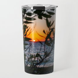 Peeking Through Travel Mug