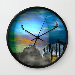 Songlines Wall Clock