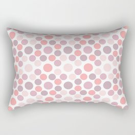 Blushing Dots Rectangular Pillow