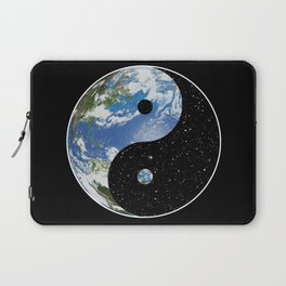 Earth / Space Yin Yang Laptop Sleeve