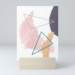 Stitched Abstraction #4 Mini Art Print