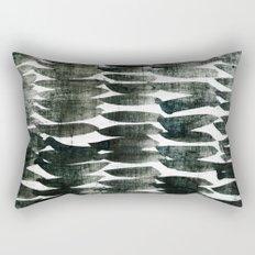 stripes grunge Rectangular Pillow