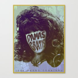 Damas Gratis Canvas Print