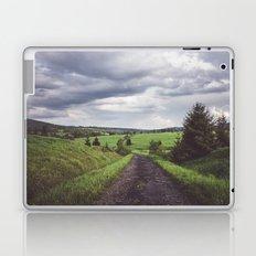 Road to nonexistent village Laptop & iPad Skin