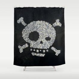 Confetti's skull Shower Curtain