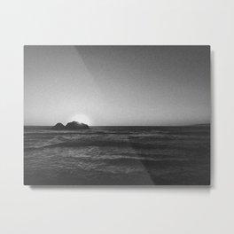 SUTRO BATHS (B+W) Metal Print