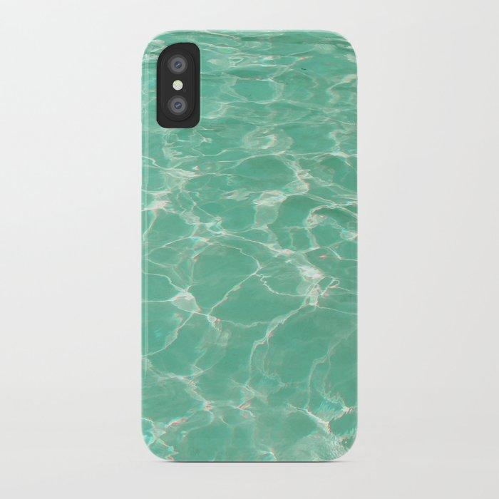 Pastel Pool. iPhone Case